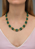 EMERALD CORALINE NECKLACE