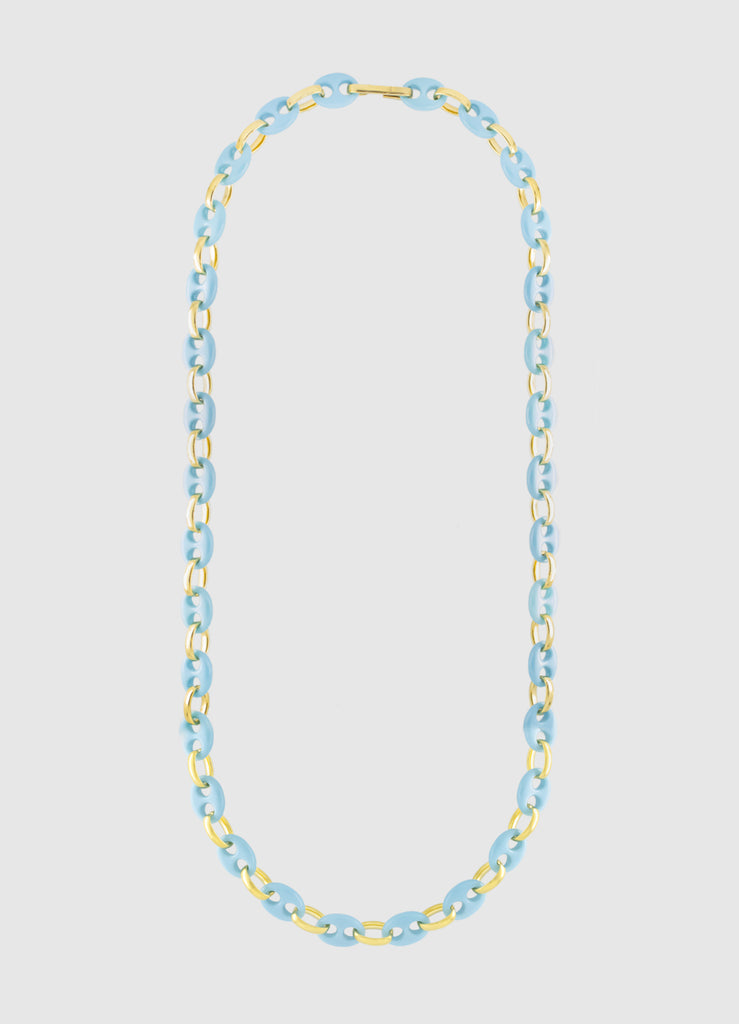 TURQUOISE CORALINE LONG NECKLACE