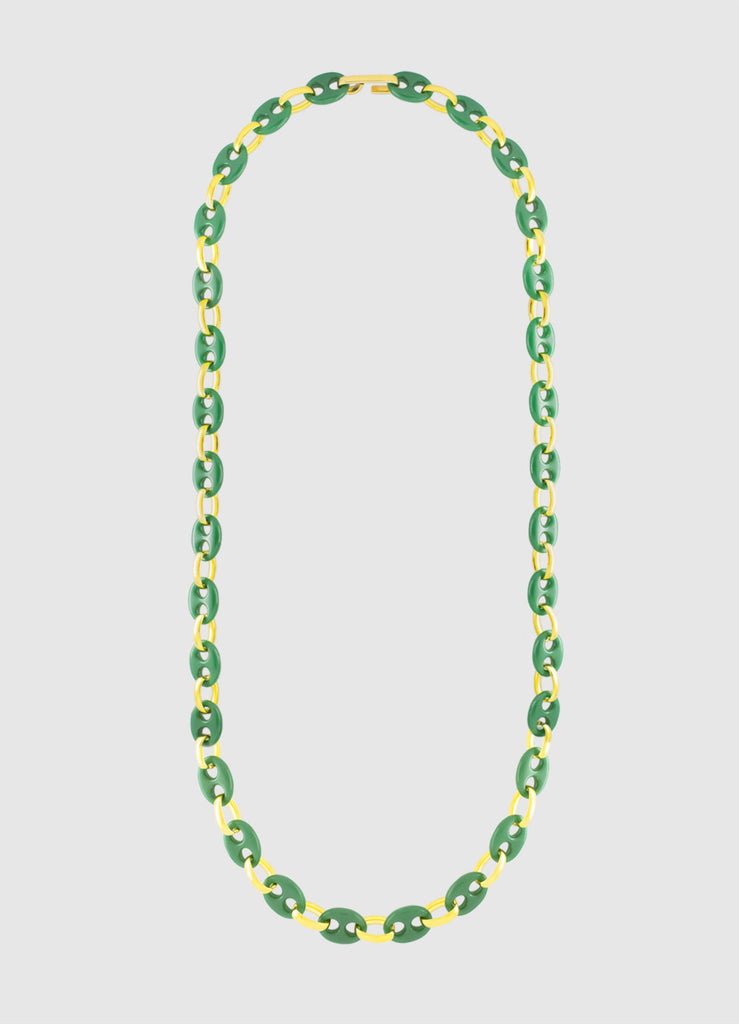 EMERALD CORALINE LONG NECKLACE