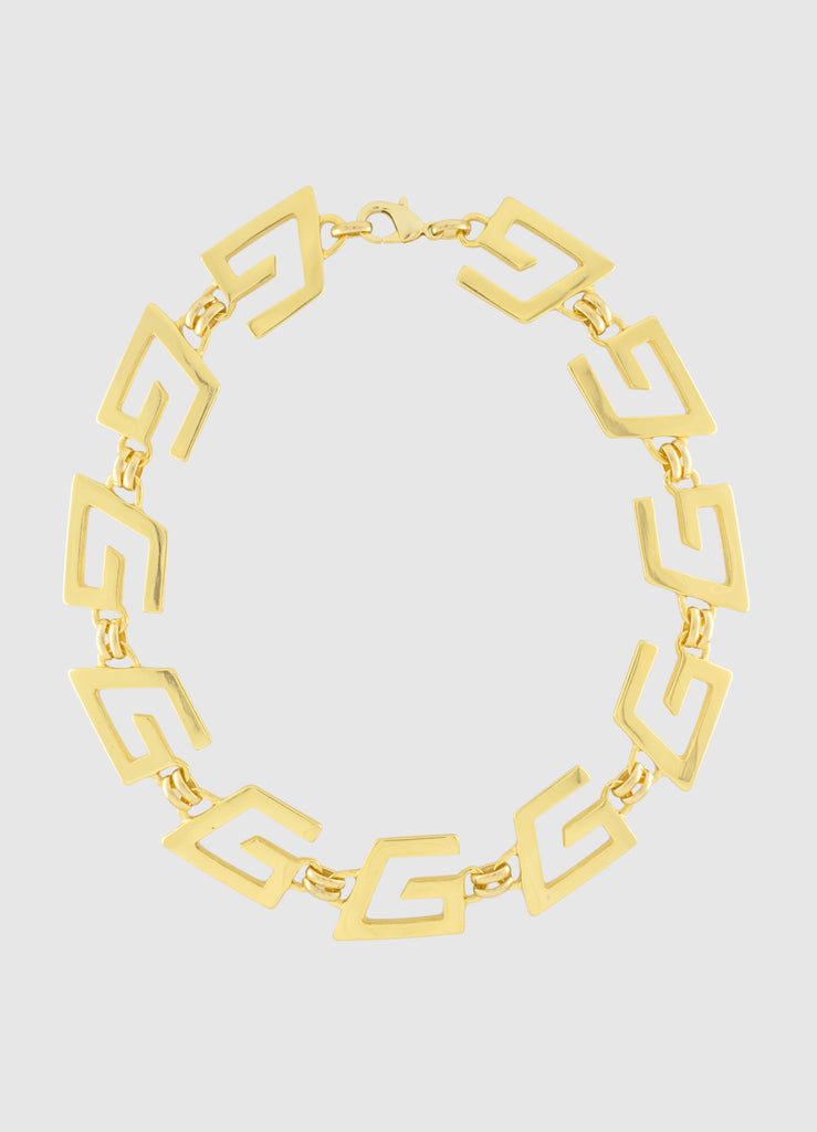 GOGO-A-GOGO GOLD NECKLACE
