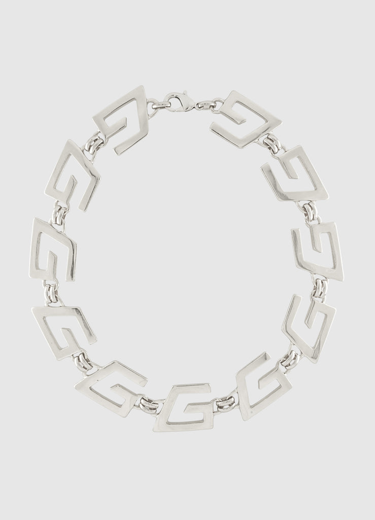 GOGO-A-GOGO SILVER NECKLACE