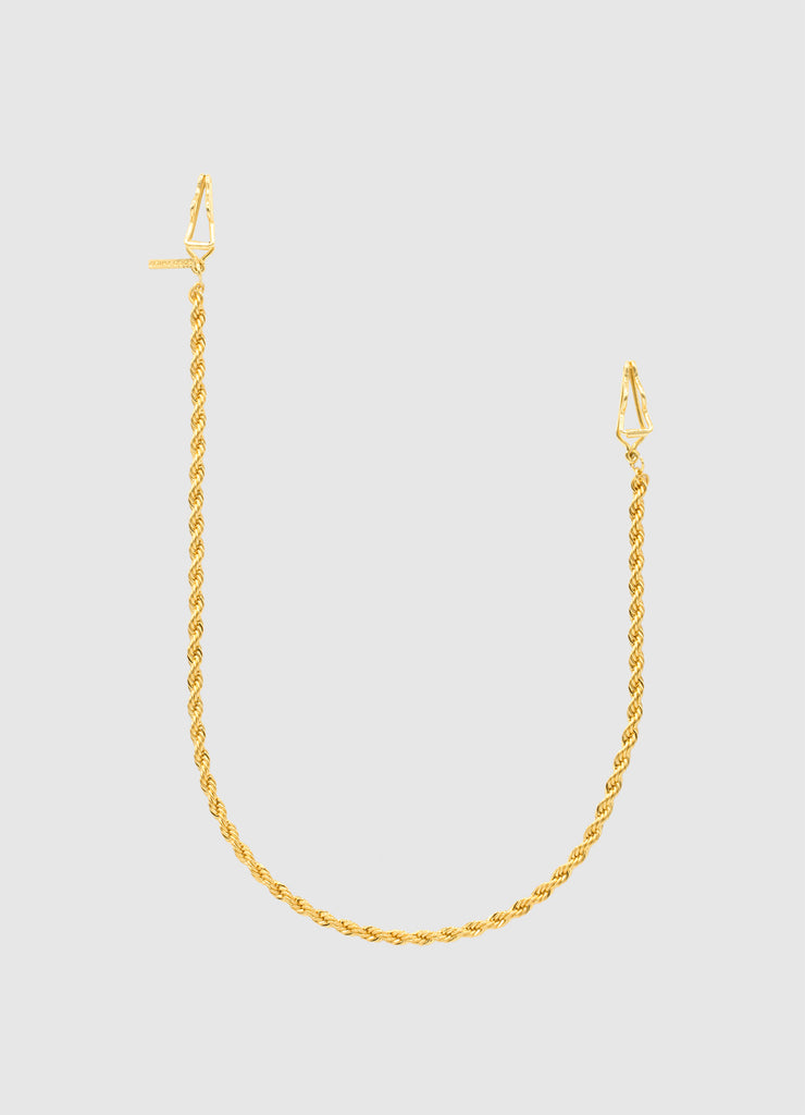 TWISTED CLIP CHAIN GOLD