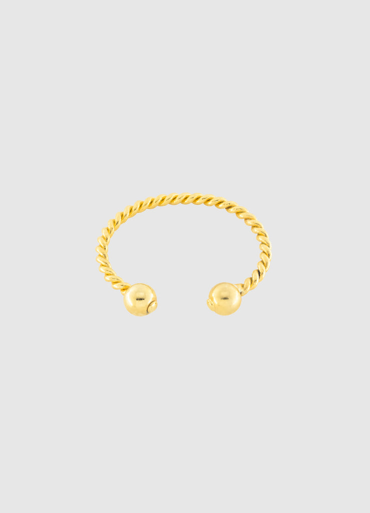 LABORATORY ROPE GOLD BRACELET