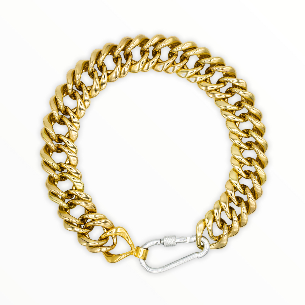 Classic Gogo Philip Chunky Gold Plated Chain