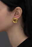 MINI METEORA EARRINGS GOLD