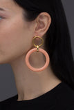 PEACH LILIUM EARRINGS