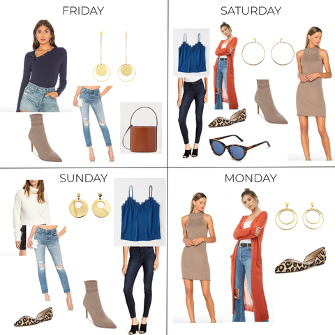 Fall Packing List, Fall Outfits, What to Wear this Fall