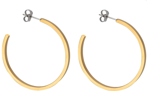 45mm square hoops
