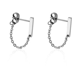 CHAIN HOOP | Earrings | Tini Lux