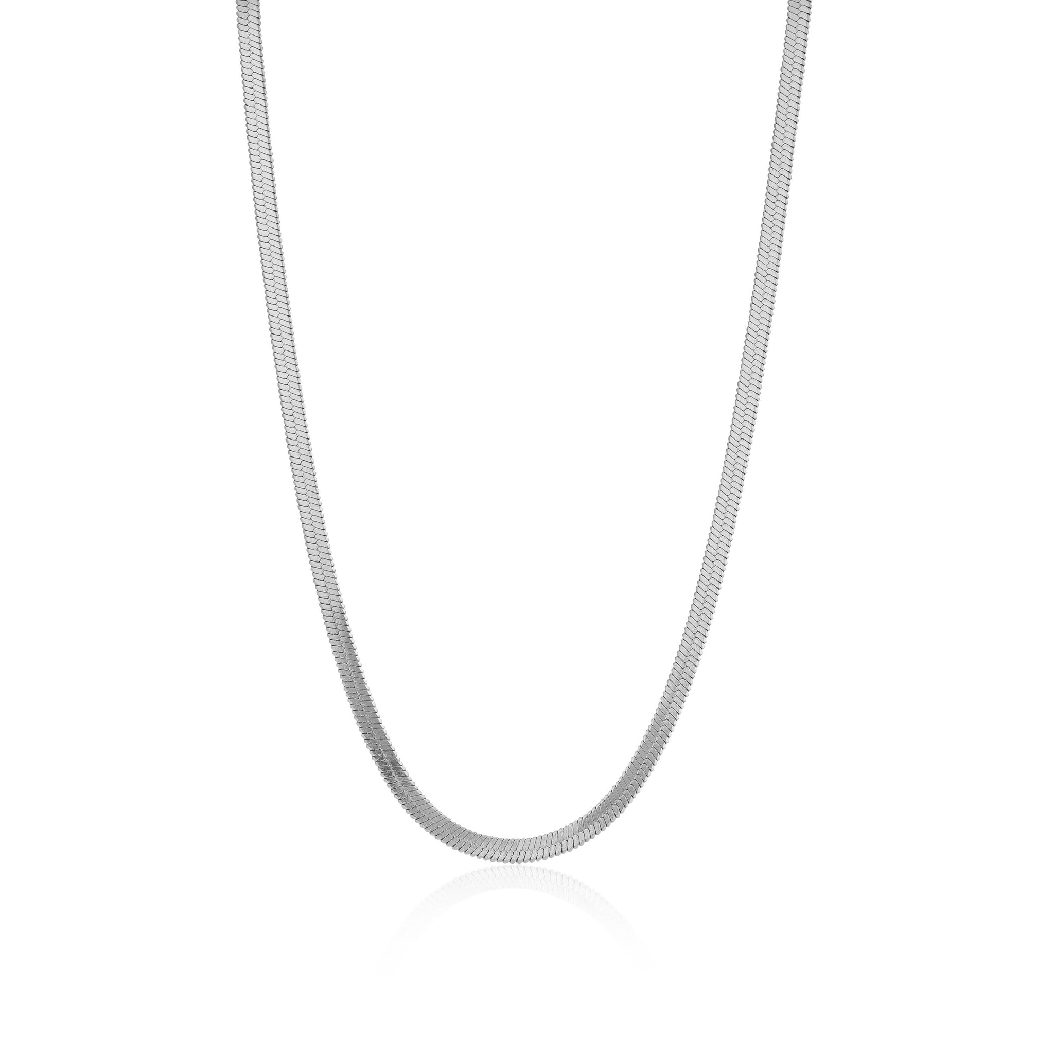 z_new_HERRINGBONE NECKLACE | Necklace | Tini Lux