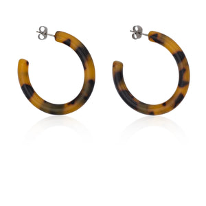z_new_TORTOISE HOOPS | Earrings | Tini Lux