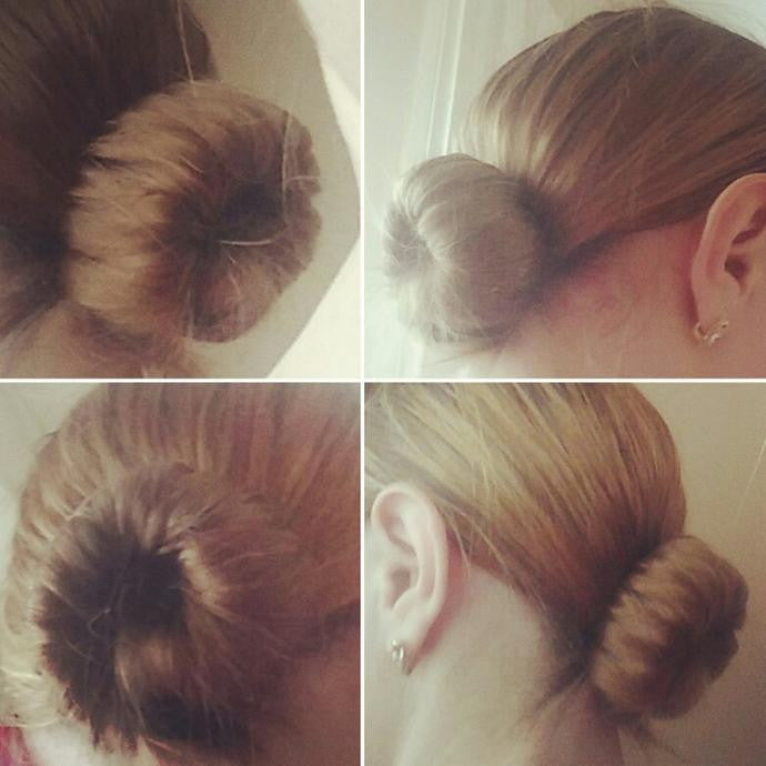 Chignon Express en 5 secondes