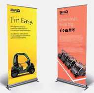MRRLP014 - SILVER ALUMINIUM ROLL-UP DISPLAY 850x2000mm - MRCH