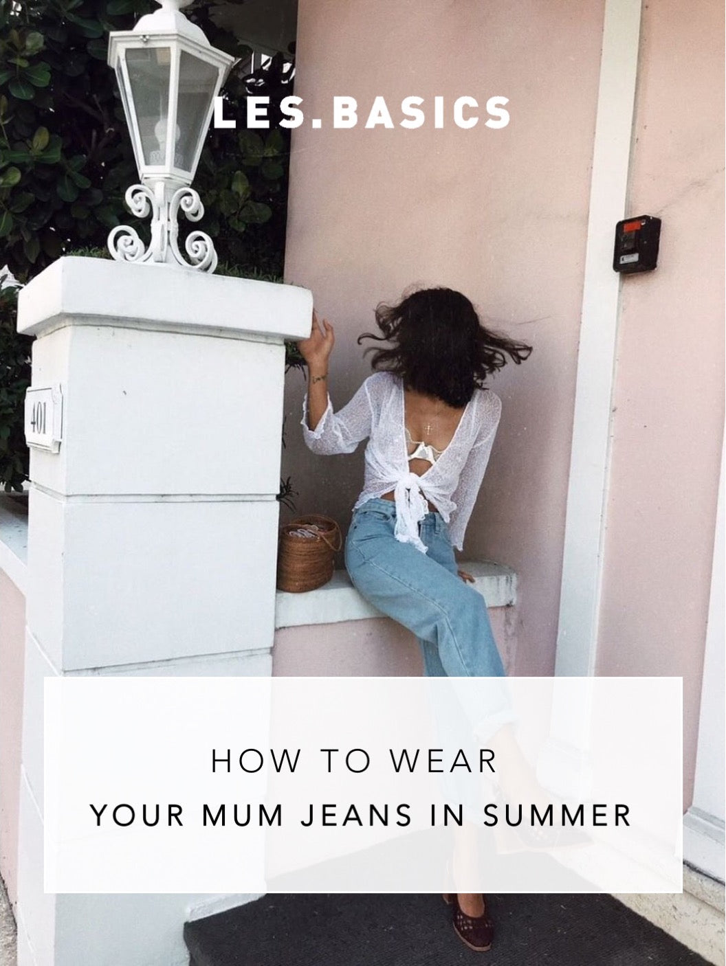 How To Wear Your Mom Jeans In Summer