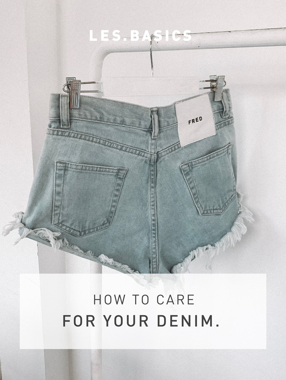 No more ruining your jeans: How to care for your denim