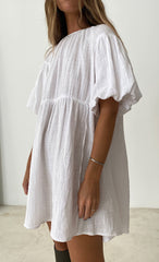 THE MULTIWAY DRESS WHITE