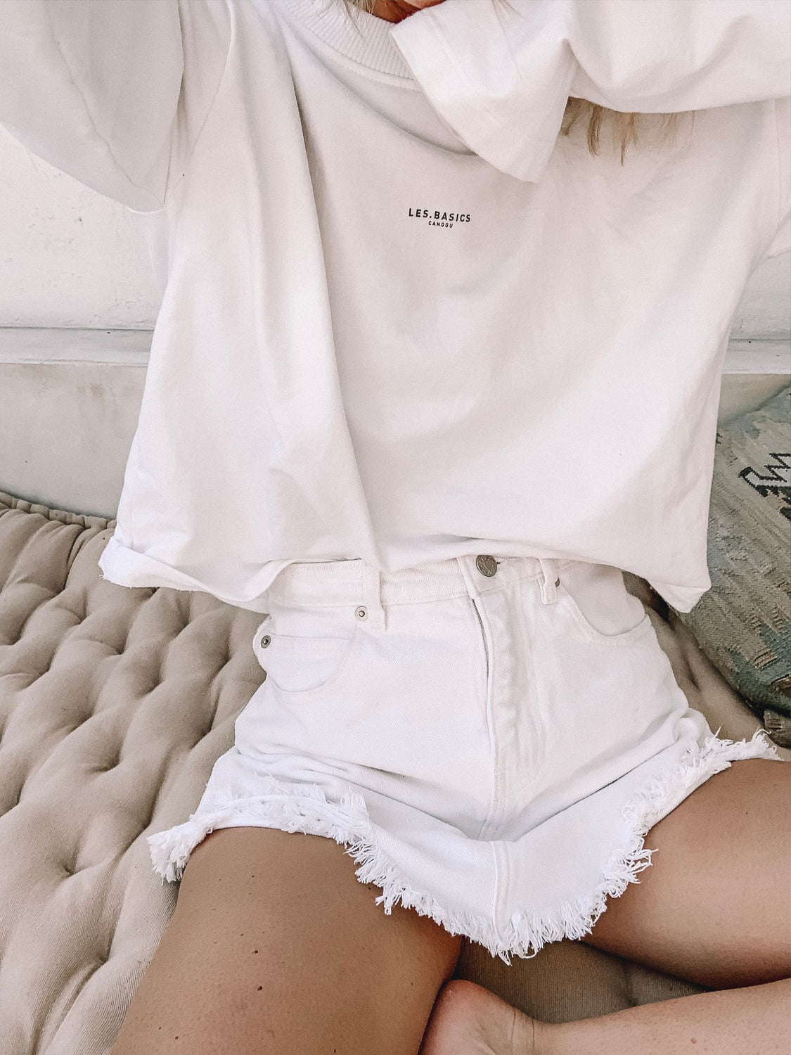 Crop Sweatshirt Les.Basics