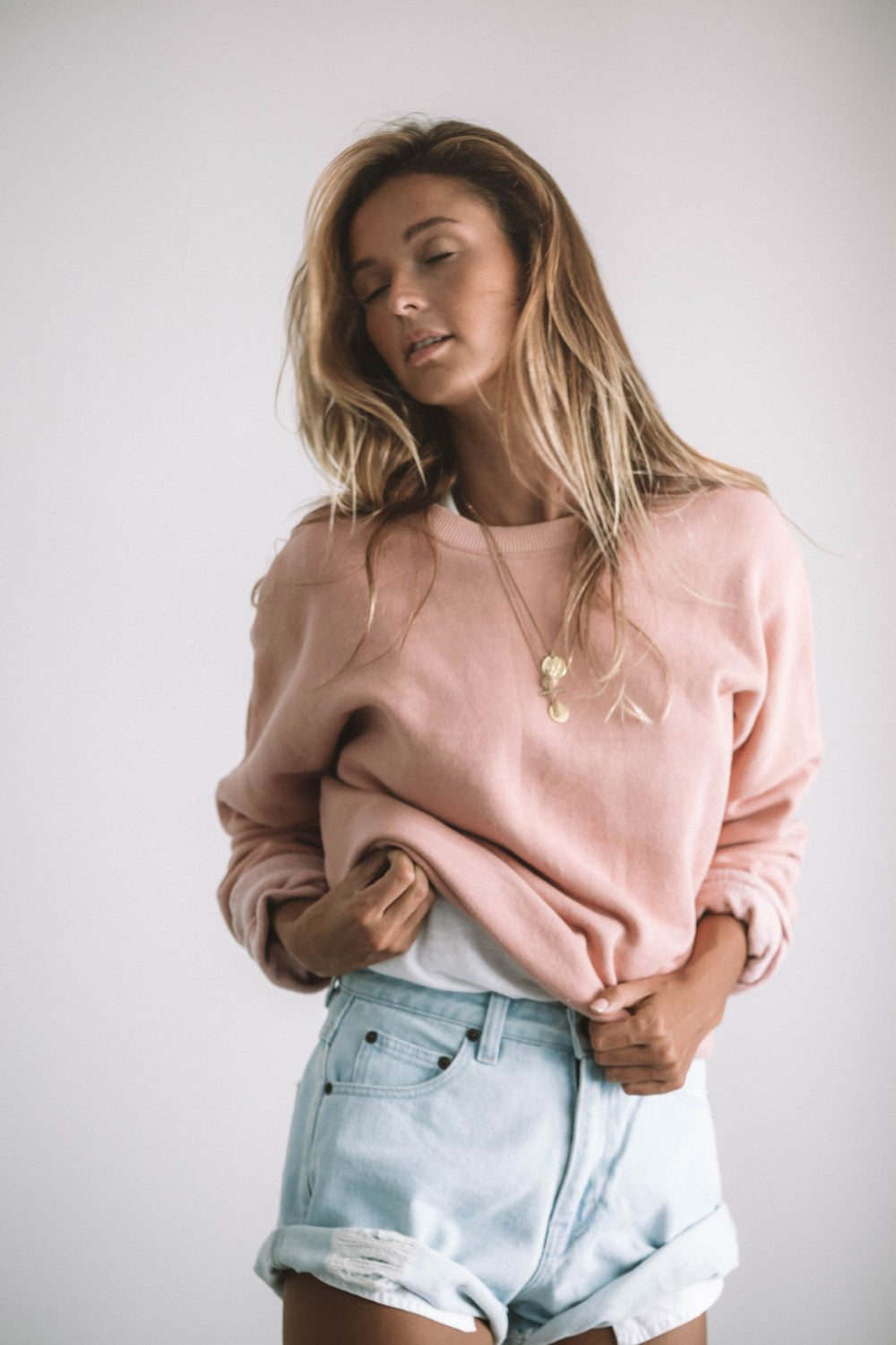 Basic Blush Sweatshirt