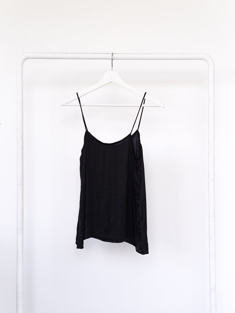 Night Out Top Black