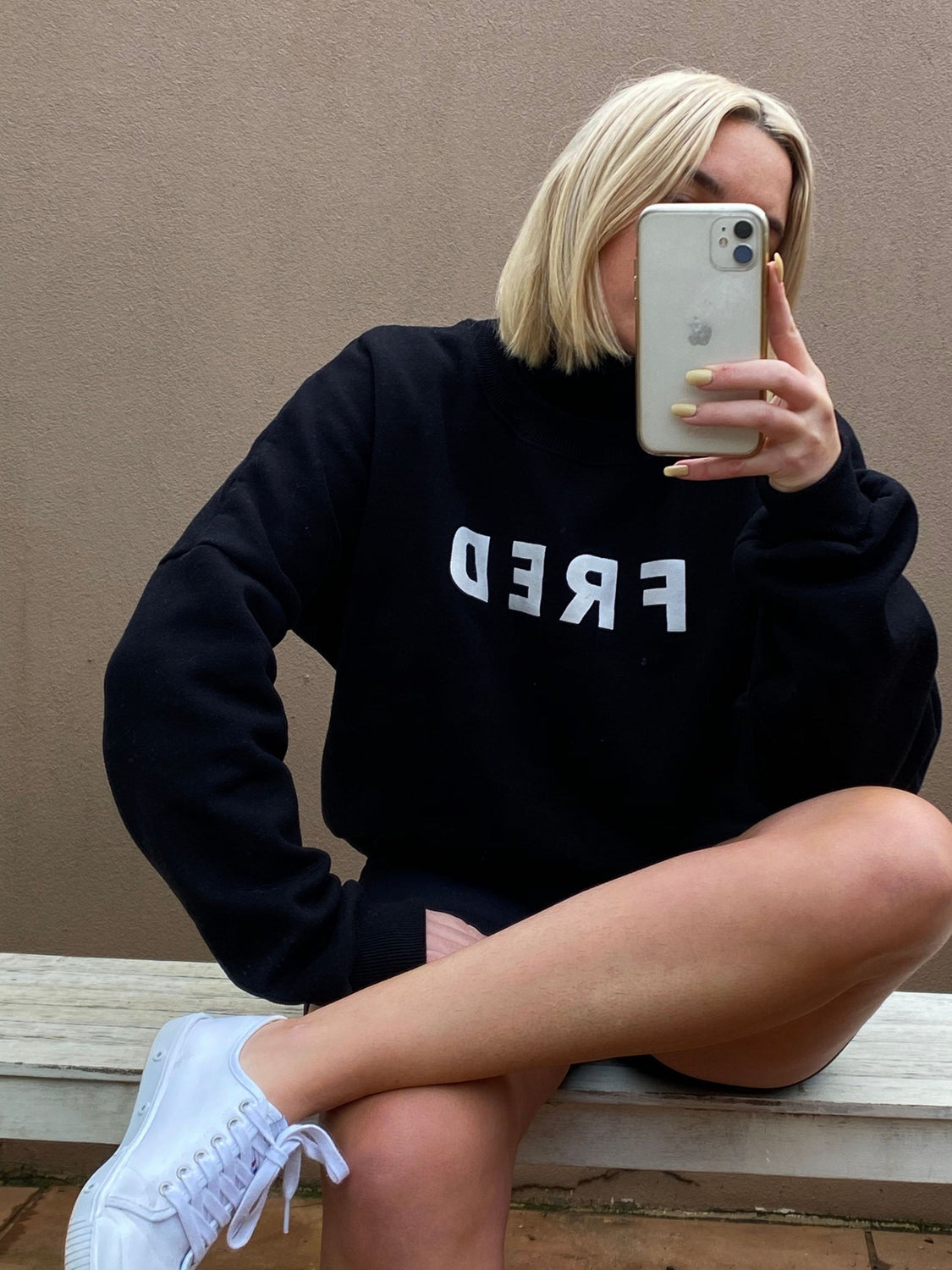 Fred Sweatshirt Black