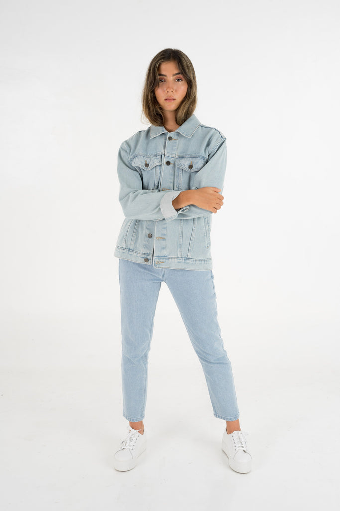 THE FRED DENIM JACKET  |  BLUE