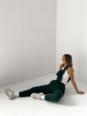 THE BASIC JOGGER DARK GREEN