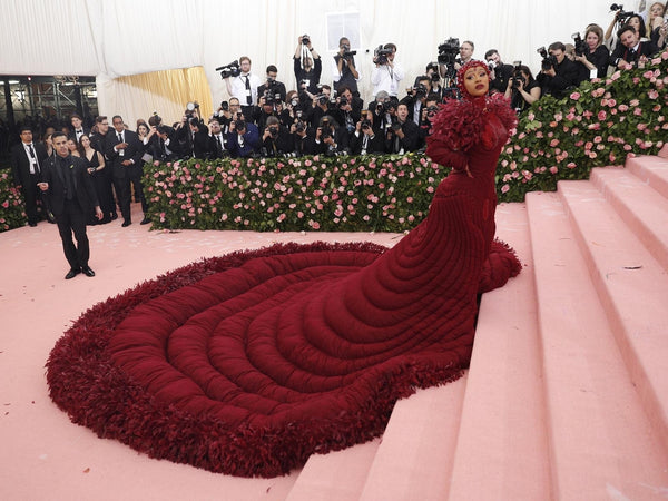Cardi B Met gala 2019 Camp notes