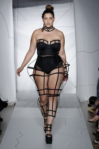 Or Denise Bidot for Chromat