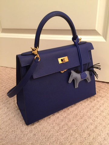 hermes kelly bag dark blue