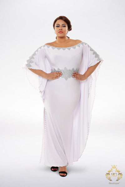 Simone Off-Shoulder Kaftan
