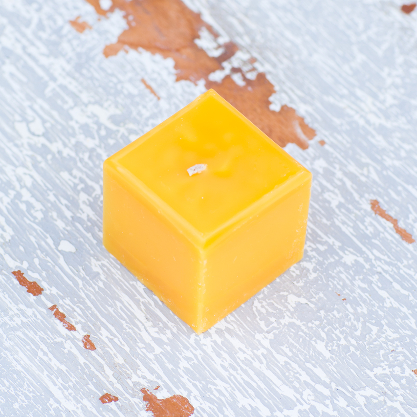 Tangello Square Votive Candle