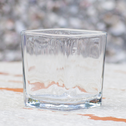 Small Glass Candle Votive