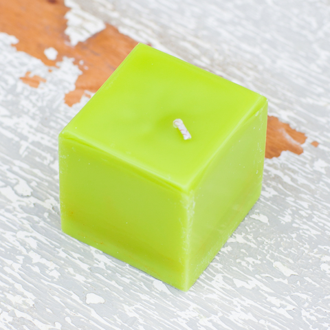 Sweet Lime Square Votive Candle