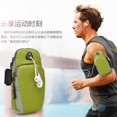 5.5inch Sports Running Jogging Gym Armband Arm Band Holder Bag For Mobile Phones free shipping - Oleevia's