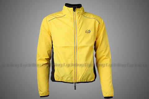 ROCKBROS Reflective Breathable Bike Bicycle Cycling Cycle Long Sleeve Wind Coat Windcoat Windproof Quick Dry Jersey Jacket - Oleevia's