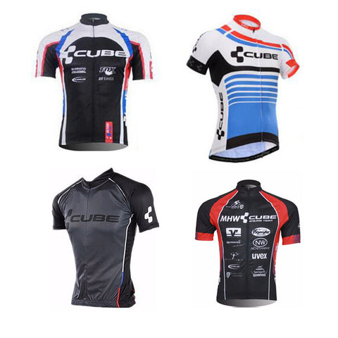 2016 Brand Pro Team Cube Cycling Jersey Ropa Ciclismo Quick-Dry Sports Jersey Cycling Clothing Bike Wear Mtb Jersey - Oleevia's