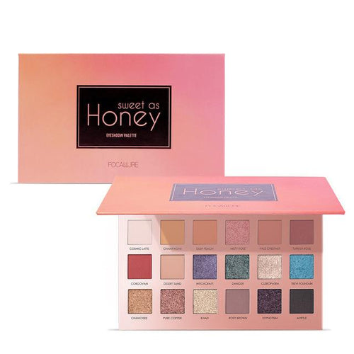 Paleta 18 Farduri Honey FOCALLURE