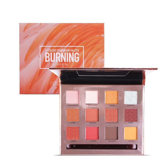 Paleta 12 Farduri Burning FOCALLURE
