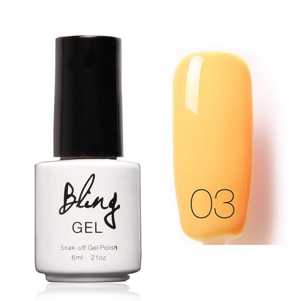 Oja Semipermanenta Bling By FOCALLURE - 6ml - Orange - 03