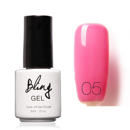 Oja Semipermanenta Bling By FOCALLURE - 6ml - Pink Coray - 60