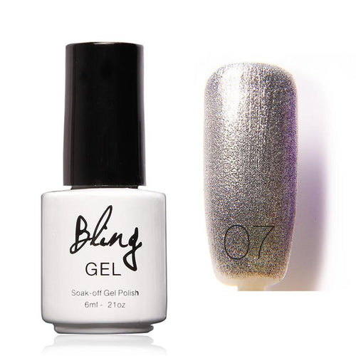 Oja Semipermanenta Bling By FOCALLURE - 6ml - Grey - 07