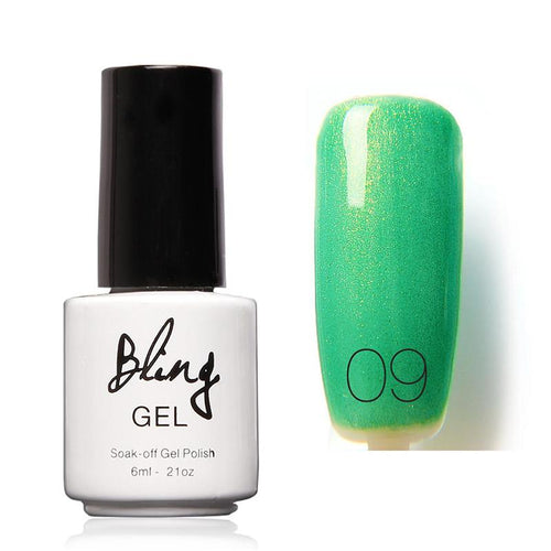 Oja Semipermanenta Bling By FOCALLURE - 6ml - Green - 09