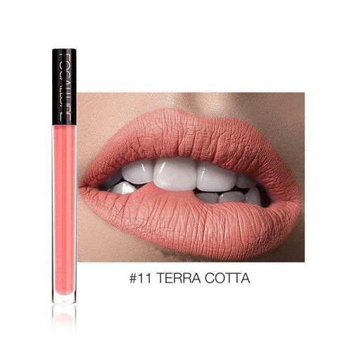 Ruj Lichid Waterproof Terra Cotta FOCALLURE 11