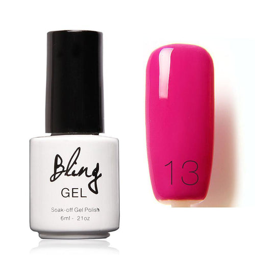 Oja Semipermanenta Bling By FOCALLURE - 6ml - Pink P - 13