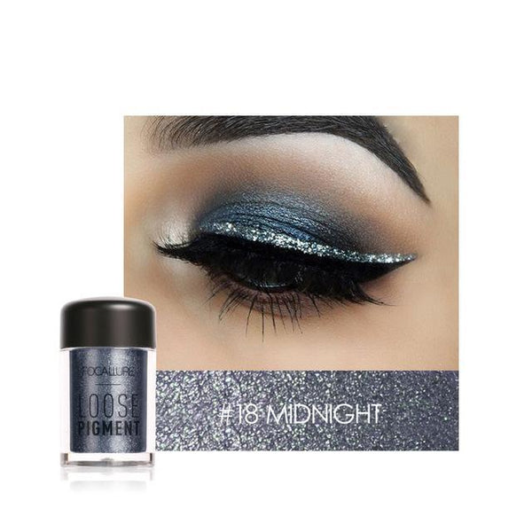 Glitter Pulbere Midnight FOCALLURE 18