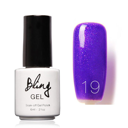 Oja Semipermanenta Bling By FOCALLURE - 6ml - Purple W - 19