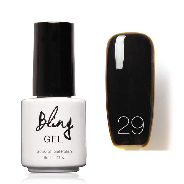Oja Semipermanenta Bling By FOCALLURE - 6ml - Black - 29