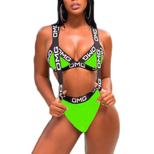 Costum de Baie OMG - GREEN STAR