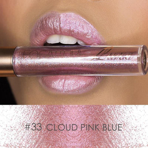 Ruj Waterproof Cloud Pink Blue FOCALLURE 33