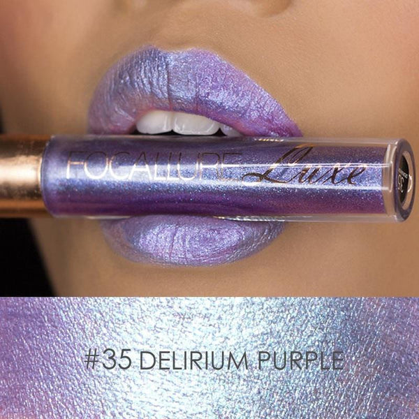 Ruj Waterproof Delirium Purple FOCALLURE 35